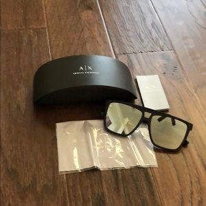 Armani Exchange Sunglasses Black/Silver AX4079S